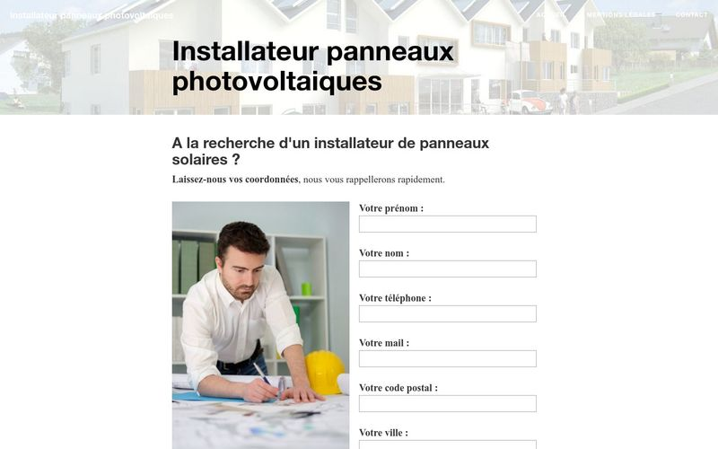 Les missions d'un installateur de panneaux photovoltaiques